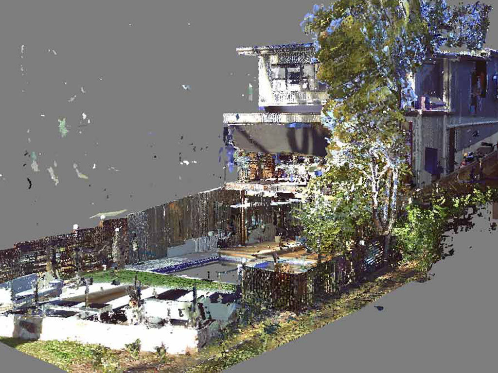 Architectural point cloud modeling
