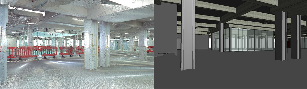 Integrtaed point cloud modeling