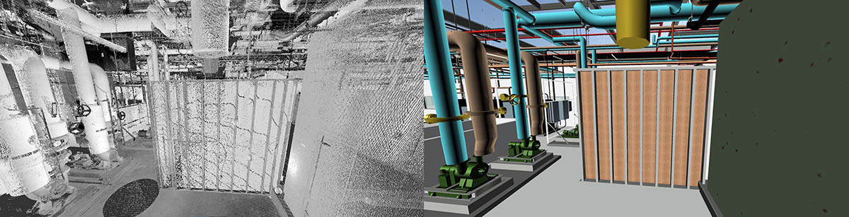 integrated point cloud modeling