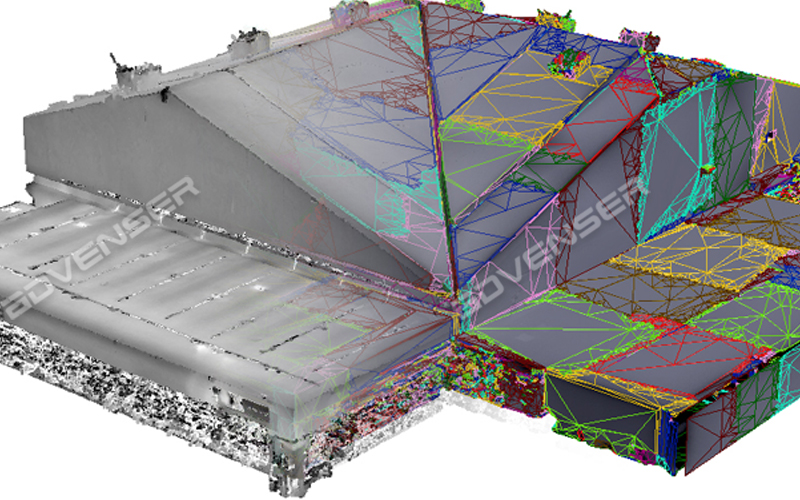 Point cloud to Mesh Services