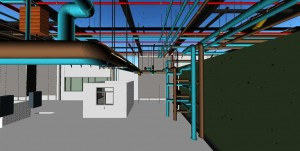 MEP Point Cloud Modeling
